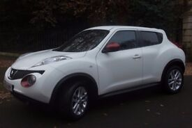 Nissan Juke, Sat Nav,Tinted Windows, Sports leather interior,Immaculate condition