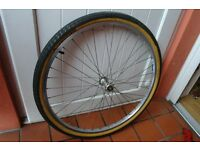 Mountain Bike Front Wheel Quick Release With Panaracer Kevlar Tyre 26 x 1.75 Can Deliver