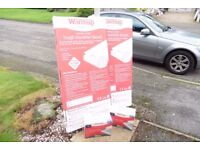 2 x Underfloor heating 'PW10' for area 2 x 10M2. plus 16 each insulation boards