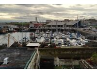 3 Bedroom Flat with Garden overlooking Arbroath Marina