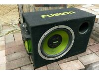 Fusion Subwoofer with Amp 300 Watts