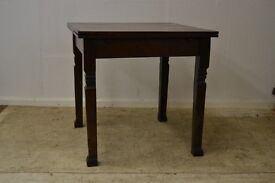 Vintage Dark Solid Wood Extendable Table GT 650