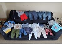Huge Bundle of Baby Boy Clothes 6-9 months