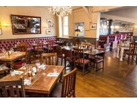 CDP wanted for beautiful gastro pub - Earn £8.50+ an hour