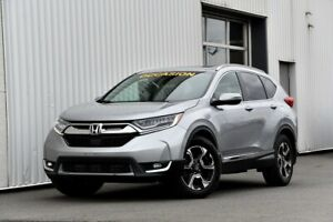 2017 Honda CR-V Touring AWD H/S Garantie Jamais accidenté