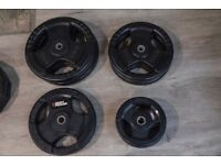 Bodymax Standard Rubber Radial Tri-Grip Weight Plates 75 KG Set