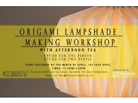 Origami Lampshade Making Workshop