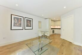 A spacious two bedroom apartment is located within this popular riverside development
