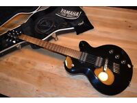 Rare Yamaha AES820 Electric Guitar with Hard Case & Extras