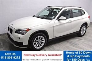 2015 BMW X1 xDRIVE28i AWD! LEATHER! PANO ROOF! PREMIUM PACKAGE