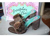 Beautiful Irregular Choice sandals size 40