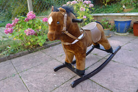 KIDS ROCKING HORSE WITH MUSICAL EARS