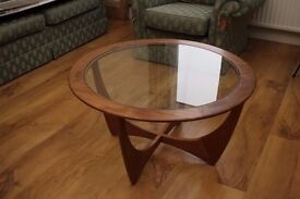 G-Plan 1960's ASTRO Design Circular Coffee Table