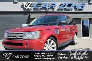 2008 Land Rover Range Rover Sport Supercharged, Dual DVDs, Easy