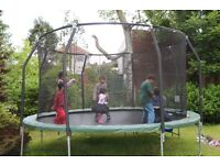 14FT Trampoline - All Accessories Included