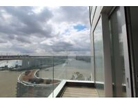 PROVIDENCE TOWER. Stunning brand new 1 bed flat with balcony. 26th floor. FURNISHED. GYM.CONCIERGE.