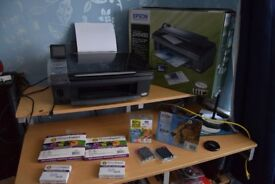 Epson DX 8450 All in one Printer Scanner