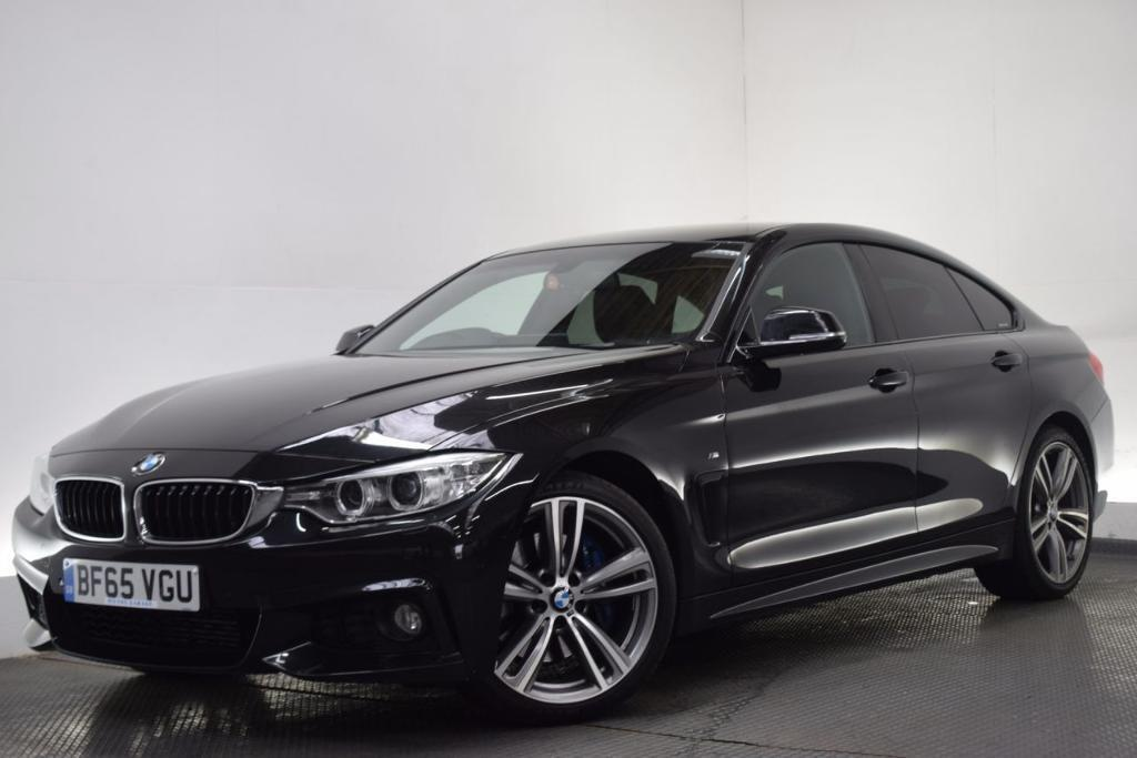 bmw 4 series 2 0 420d m sport gran coupe pro nav 19 black 2015 in hilton derbyshire gumtree. Black Bedroom Furniture Sets. Home Design Ideas