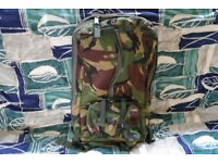 Back Pack New Never Used Top Quality Materials For British Army YKK Zips Option For Outer Pouches