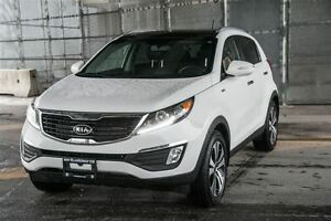 2012 Kia Sportage EX Luxury w/Navigation AWD