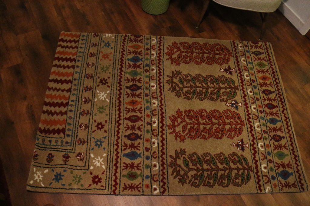 Marks And Spencer Fair Isle Rug Medium In New Condition