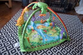 Fisher-Price K4562 Melodies and Lights Deluxe Gym baby mat