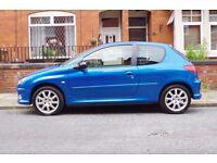 2003 PEUGEOT 206 GTI 2.0 16V 137 BHP