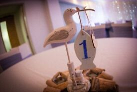 Driftwood Table Decorations - Ideal for Weddings