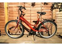 Ladies bike hybrid womens bicycle brand new