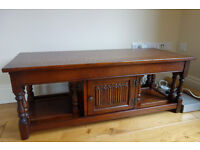 Wood Brothers Old Charm Solid Oak Coffee Table Nest Tables