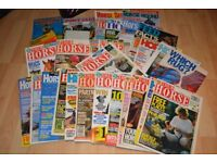 Job lot of horse magazines
