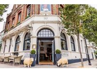 Chef de partie needed for small pub in the heart of Chelsea