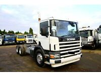 2005 SCANIA 94 260 6X4 CHASSIS CAB WITH PTO PUMP PERFECT FOR TIPPER BOX EXPORT TANZANIA DAR ES SALAA