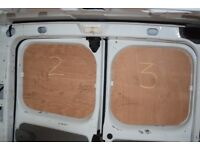 Ply lining out of lwb Renault Trafic 2014