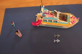 Lego Friends 41015 Dolphin Cruise ship boat with instructions