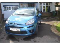 2007 Citroen C4 Picasso 1.8VTR+ Petrol Manual Blue MoT April 18 111150 miles