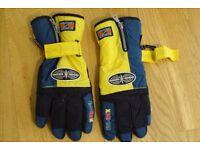 Mens large ski gloves