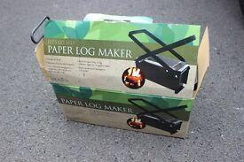 Botantica Paper Log Maker