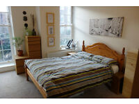 Fantastic summer let (10 Jun - late Aug) - Large kingsize room in 2 bed flat - £200pw