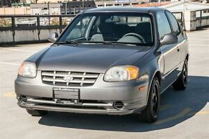 2005 Hyundai Accent Coquitlam location Inspected & Caproof