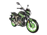 NEW ZONTES SCORPION 125CC, OWN THIS FOR £8.00 PER WEEK