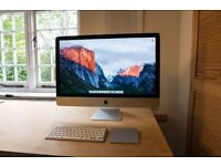 imac 27 inch 3.4Ghz Quad Core i7 32GB RAM 3TB HD NVIDIA GTX 680MX 2048MB Apple late 2012 iMac