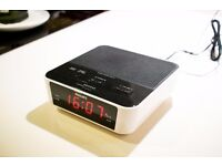 Philips alarm clock with radio