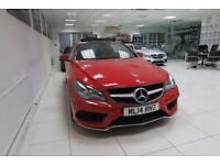 MERCEDES-BENZ E CLASS 2.1 E250 CDI AMG Sport 7G-Tronic Plus 2dr Auto (red) 2014