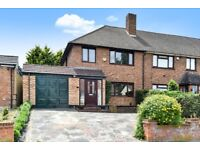 Smart three bedroom end of terrace house for rent on Imperial Way in Chislehurst