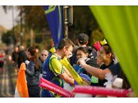 Reading Half Marathon cheer point volunteer