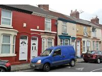 26 Plumer St, Wavertree, Liverpool. 2 bed terrace with gas central heating and DG. LHA welcome