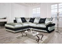 Limited Offer -- Brand New -- Supreme Quality -- Dilo Corner Sofa / 3 + 2 Seater Sofa