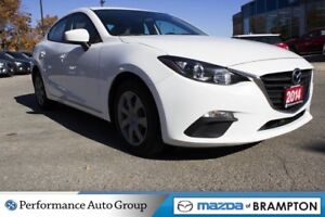 2014 Mazda MAZDA3 SPORT GX. SINGLE OWNER. BLUETOOTH. PUSH START