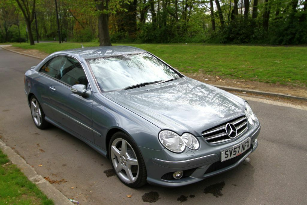 2007 57 plate mercedes clk 320 cdi sport auto coupe diesel. Black Bedroom Furniture Sets. Home Design Ideas
